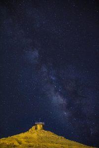 שביל החלב צילום כוכבים